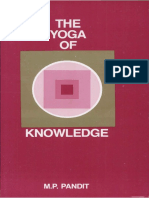 Yoga of Knowledge Pandit M.P.