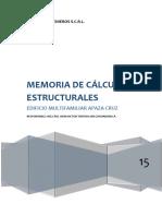 3.-Memoria Descriptiva Estructuras