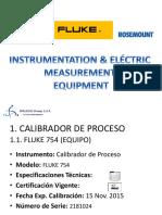 Brochure Equipos Instrumentación, Control Eléctrica
