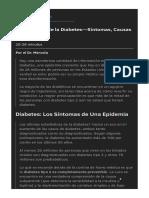 Información de la Diabetes Síntomas  Causas y Prevención.pdf