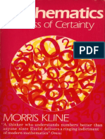 Morris Kline - Mathematics, the loss of certainty