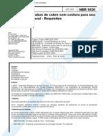 NBR 05020 - 2003 - Tubos de Cobre sem Costura para Uso Geral.pdf