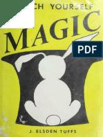 Teach Yourself Magic - J. Elsden Tuffs
