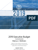 2019 Executive Tentative Budget for Dutchess County