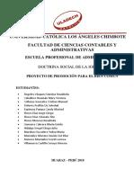 Proyecto Ppbc 2018-2 Doctrina Social