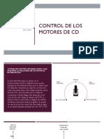 Control de Los Motores de CD (1)