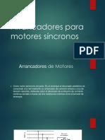 Arrancadores Para Motores Sincronicos