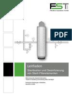 Leitfaden FST Sterilfilterelemente Sterilisation Und Desinfizierung-20101209
