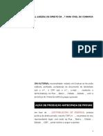 1.9 - Inicial - Produção Antecipada de Provas