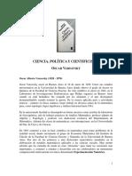 LibroVarsavskyC,PyCientificismo