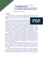 Fichamento Texto_Aula 2_SANTOS. Ciência Como Cultura - Paradigmas e Implicações..._Práticas Em HCM 2018