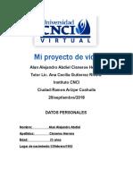 Alan Cisneros Proyecto de Vida