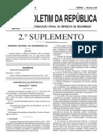 Pqg 2015-2019 Aprovado Pela Ar. Br 29 i Série 2.º Suplemento 2015