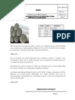 # 5 Tubería PVC Interna y Externa Lisa