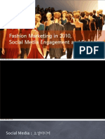 Fashion Industry and Social Media Usable Strategy_20101013