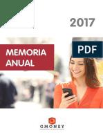 Memoria Anual Gmoney 2017
