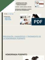 Prevención de La Hemorragia Posparto (2)