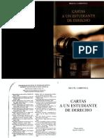 Carta a un Estudiante de Derecho - Miguel Carbonelli.pdf