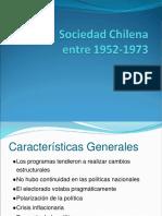 Sociedad Chilena 1952-1973