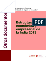 Estructura económica de India