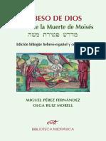 Beso de Di-s midrash de la muerte de Moises