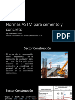 Campos CR Normas ASTM Para Cemento y Concreto