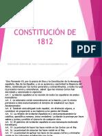 CONSTITUCIÓN DE 1812.odp