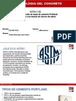 ASTM C-82 Ocaña Huarcaya