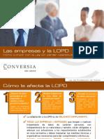 Presentacion-CONVERSIA-LOPD