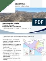 Jm18022016 Juana Rosa Del Castillo Proyecto Minero Zafranal