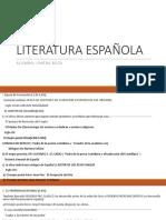 Literatura Española Terminado