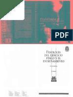 Fisiologia Del Ejercicio y Del Entrenamiento
