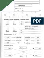 Fichas de Consolidação - Matemática 3.º ano