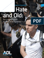 New Hate and Old the Changing Face of American White Supremacy 2018