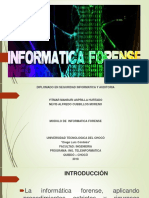 informatica forence sustentaion