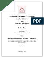 Trabajo Derecho Aduanero 2015 ULAS