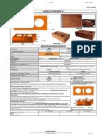 especificaciones tecnicas de ladrillo FT-LPOR30