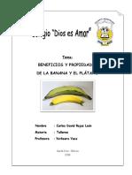 La Banana y El Platano
