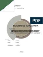 ESTUDIO TOPOGRAFICO LOSA MULTIUSOS - CENTRO RECRETIVO