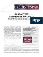 Guaranteed Retirement Accounts, Theresa Ghilarducci