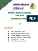 Iva Contabilidad Superior