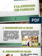 Ejes de La Atencion en Salud Familiar