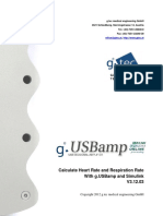 Calculate Heartrate Respiration Rate With Gus Bam p