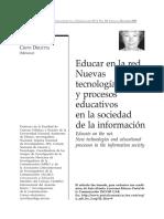 Educar en La Red Basica - Delia Crovi