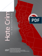 California Hate Crime Statistics 2017
