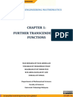 OCW - CH1 - Further Transcendental Function