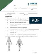Advantage Client Form