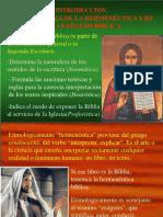 Hermeneutica-qué Es Predicar