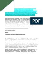 Poder, Política, Autonomía Cornelius Castoriadis. Docx