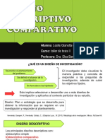 diseño descriptivo comparativo